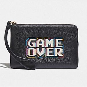 Coach | Pac-Man Game Over Wristlet